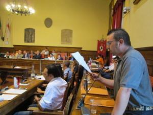 consiglio comunale 10 agosto interrogazione movimento 5 stelle arezzo referendum sanità